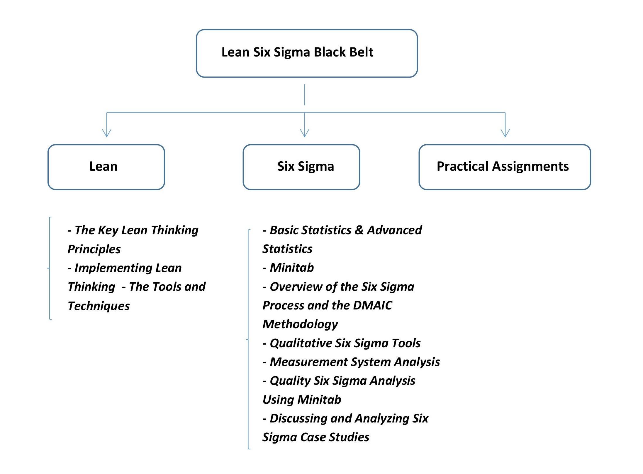 Sigma black belt lean six sigma black belt 4 days classroom getuigschrift lean six sigma black belt ku leuven 1betcityfo Images